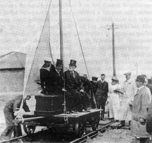 Sails On Rails ; Sail Trolleys & Bogies
